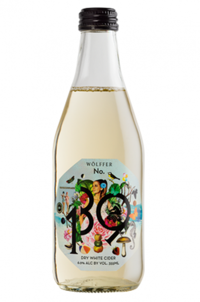 Dry White Cider No 139 Wölffer Estate Long island New York