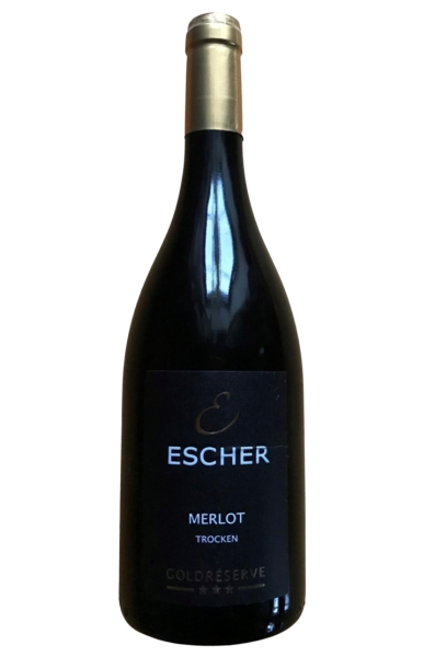2014 Merlot Goldreserve Weingut Escher