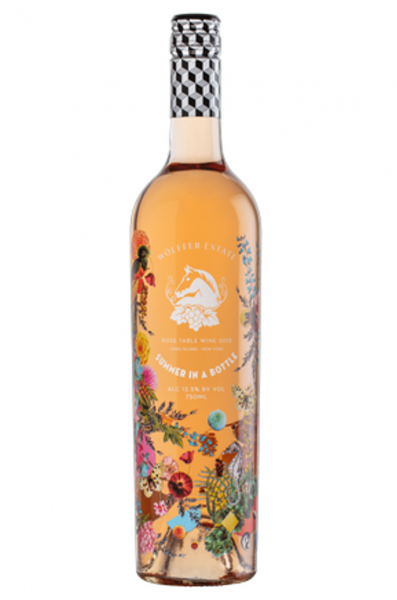 2019 Summer in a Bottle Rosé Wölffer Estate Long Island